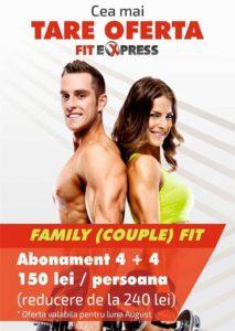 Promo Fit Express - Oferta valabila luna August