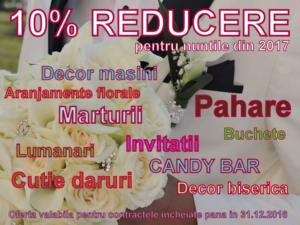 Promo Art Butik- 10% reducere - Ofertă valabilă până în 31.12.2016
