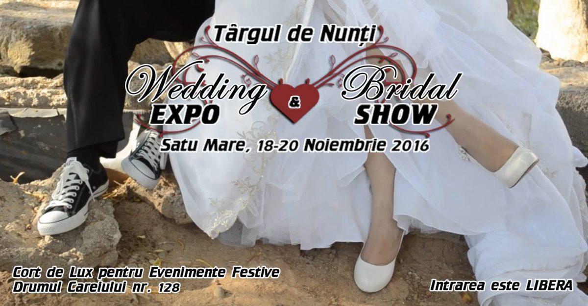 Wedding EXPO & Bridal SHOW ( 18-20 Noiembrie 2016 – Satu Mare )